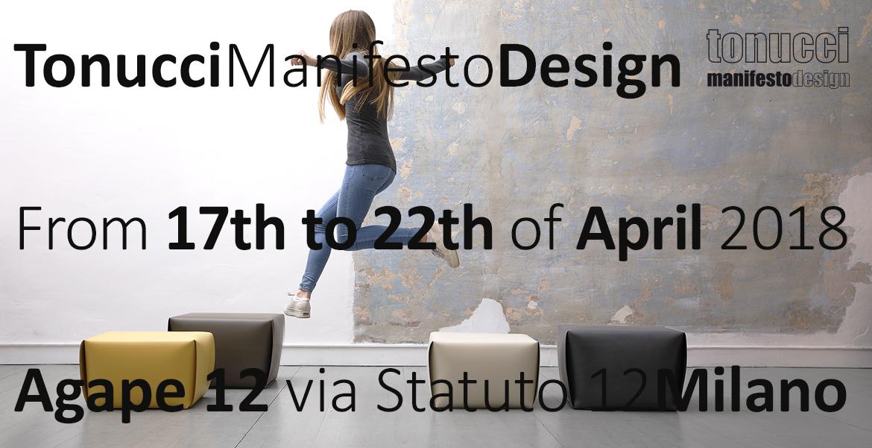 TonucciManifestoDesign during the Milano Design week